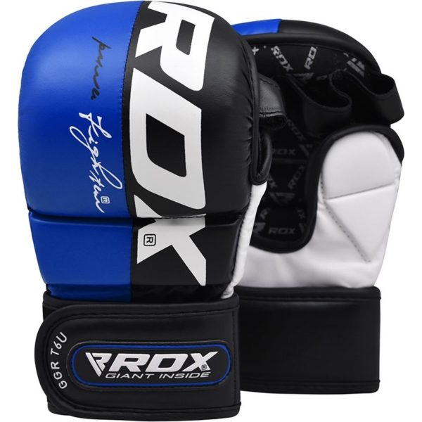 Blue RDX T6 MMA Sparring Gloves